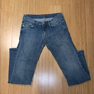 7 for all mankind jeans. Size 28!